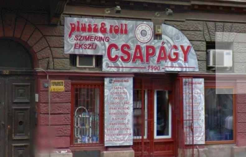 1082 Budapest, Baross utca. 92.